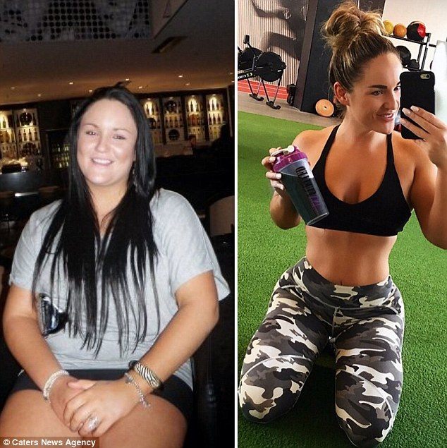 Once five kilos came off, she aimed for another five, then another