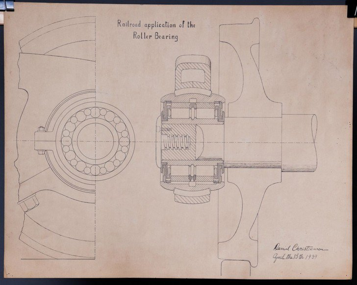 The drawing was dated in 1939.