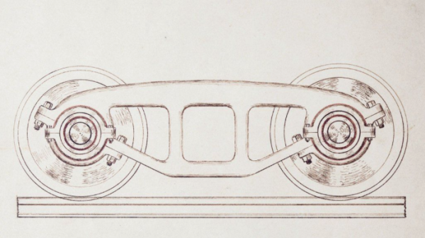 It appears that these new train wheels might have come from the train he drew earlier.