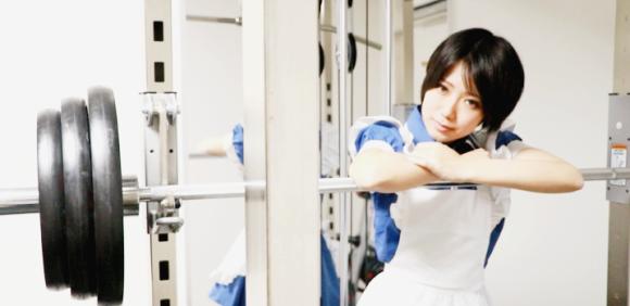 日本即將開第一間「女僕健身房」,超強「心理壓力」讓男生不得不變得超壯!