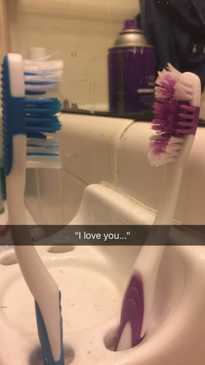 兩支牙刷的「浪漫愛情故事」爆紅,網友笑「結尾很不舒服還是比《暮光之城》好看N倍!」