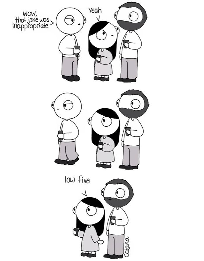 19張孤單的人最好不要看的「甜蜜情侶」恩愛漫畫