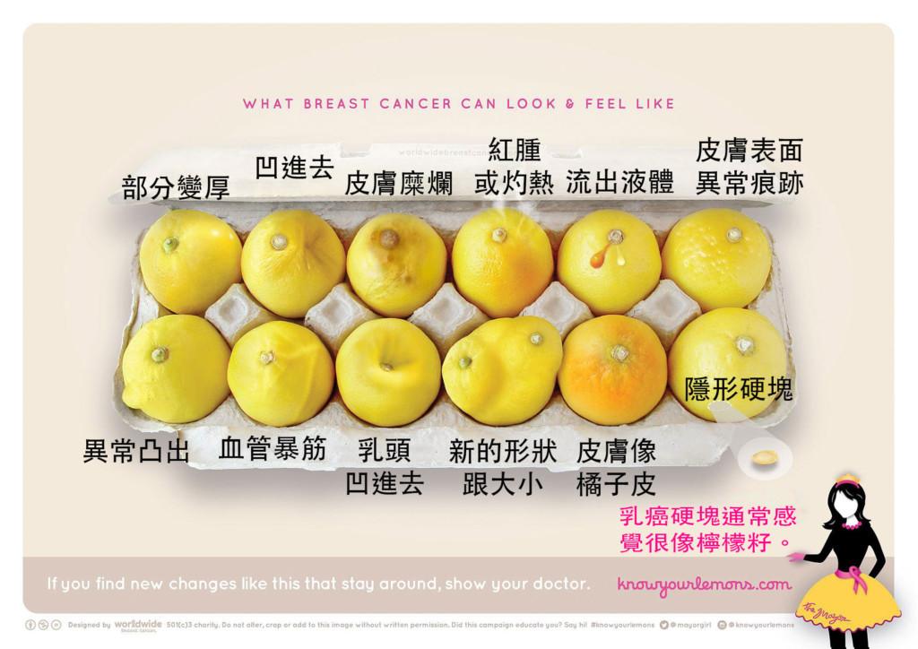 最寶貴的「12顆檸檬準確自我檢查乳癌」,可能會救多一條人命!