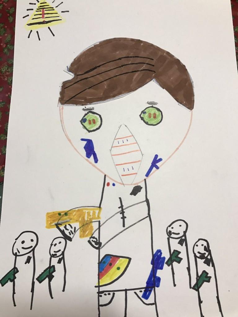 12個知名動畫師將兒子的童趣創作「改成超酷動畫角色」 每張都帥到讓人跪下!