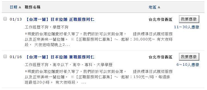 不用再跑日本!超人氣一蘭拉麵進軍台灣,門市落腳「這裡」徵才月薪30K起跳!