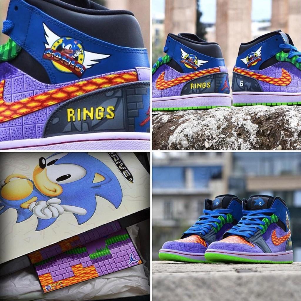 Air Jordan與超任的超經典「合體鞋」網站灌爆!PS鞋還可插遙控器!(7張)