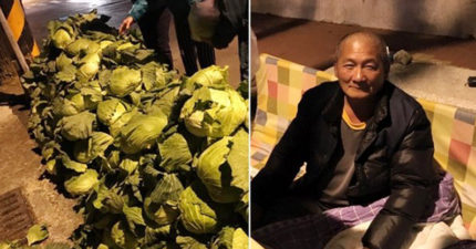 女客人買150卻給1千,台南高麗菜伯:支持就多買但「不能不找錢」!