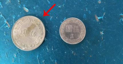 他收到「奇怪大5元假幣」氣到PO文,網友噴淚跪喊:「傻傻的!你不要我50收!」