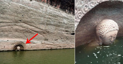 中國驚現「700年前神秘大型佛像」浮出水面,考古學家揭開「神祕廟宇」存在真相!