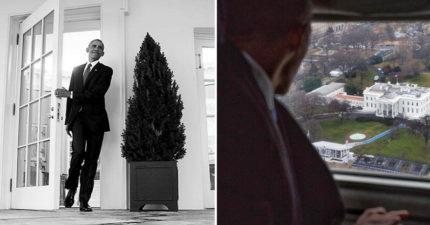 20張美國前總統「歐巴馬離開白宮」的感人道別照片!直升機上的最後一眼...