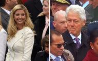 克林頓被拍到「色色的偷看伊萬卡」被希拉蕊慘抓包,網友:「充滿愛的眼神...」