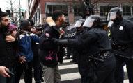 16張世界各地對川普就職的「抗議大暴動」照片!