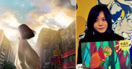 她的作品在台灣被酸「抄襲、好醜」到法國參展「真正天才的作品震驚全場」