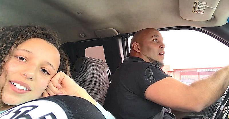 爸爸「邊開車邊唱歌」被女兒錄下,「才一週800萬點閱」看完後驚訝到耳朵都流淚了...