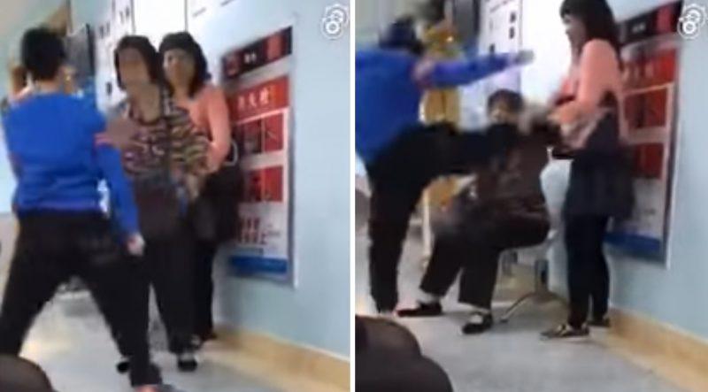 媽媽不讓玩手機,男孩開始「瘋狂怒踢」她與外婆,網友表示:「活該...」