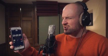 男子挑戰「饒舌90秒不換氣」,痛苦到會讓你不小心窒息!