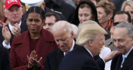 蜜雪兒聽到川普的演講「毀了老公8年來的努力」,一時控制不住「變成殺手臉」!