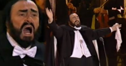 「高音C之王」帕華洛帝知自己快死,最後一次表演可以從他表情中看出!