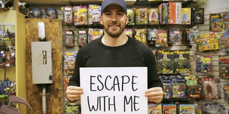 「美國隊長」惡整顧客讓他們陷入「密室逃脫」危險,「找出九頭蛇臥底」跟偶像本人見面!(影片)