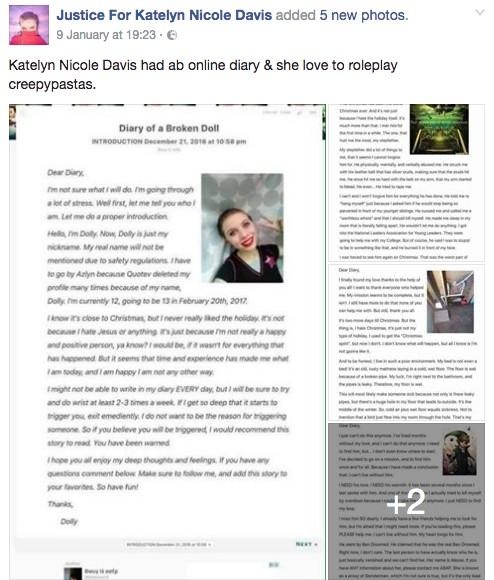 12歲女孩臉書「開直播」坦承自己被親戚性侵後,在眾多網友面前上吊自殺...(非趣味+影片)