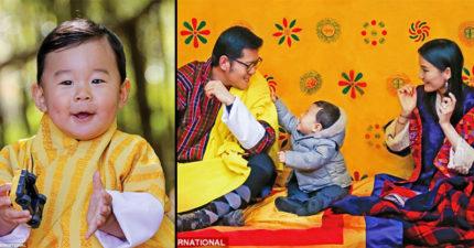 不丹王子「慶祝一歲生日」萌照融化網友,跟「25歲美女皇后」合照美到太不科學!
