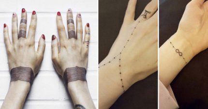19個「讓你樂意戴一輩子」的刺青手環。#8簡約風連媽媽都會愛死!