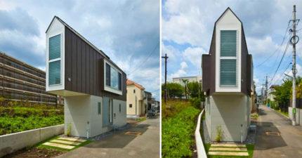 日本這棟只有16坪的小房子看似古怪又簡陋,但裡頭絕妙設計如豪宅般舒適!