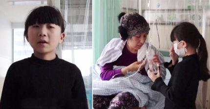 8歲女孩暴飲暴食「一天狂吃8餐」拼命變胖,捐骨髓她說:「要還媽媽一條命。」