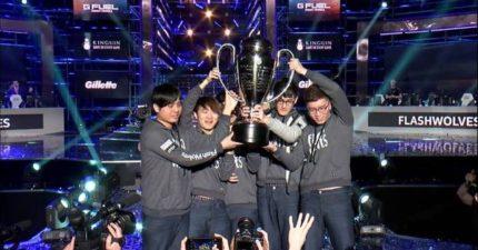又一個得到《英雄聯盟》世界冠軍的台灣隊!台灣閃電狼以超霸氣成績打敗強敵奪得冠軍!