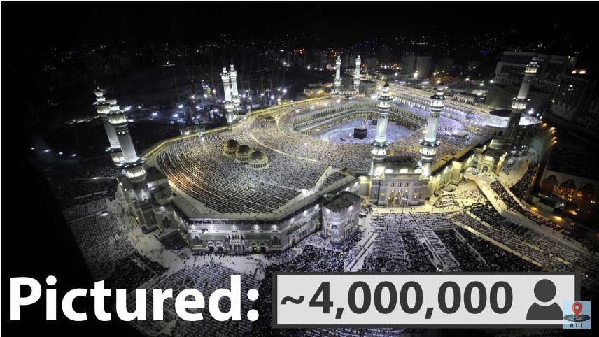全球74億人「塞進同一棟建築」會如何?鄉民分析發現「真的能塞完」