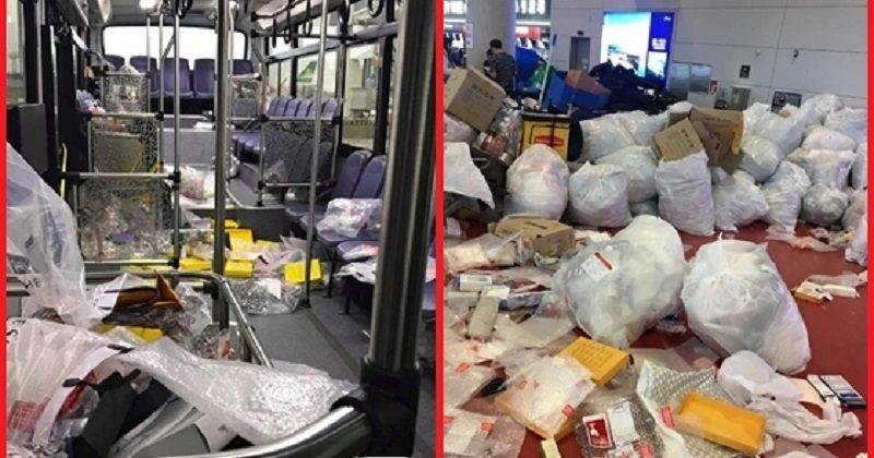 中國遊客繼續「倒垃圾」在南韓機場,員工表示:「不是中國人的問題!」