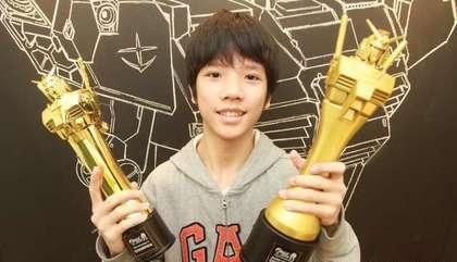 功課不好又怎樣!台灣國二生榮獲「鋼彈模型製作家全球盃冠軍」 世界級技術「連日本社長都大讚」