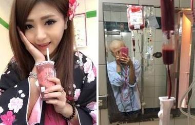 正妹正能量抗癌感動過萬網友!她戰鬥力爆表:「長得太漂亮老天爺給的考驗!」