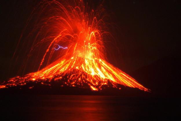 The 1883 eruption of Krakatoa