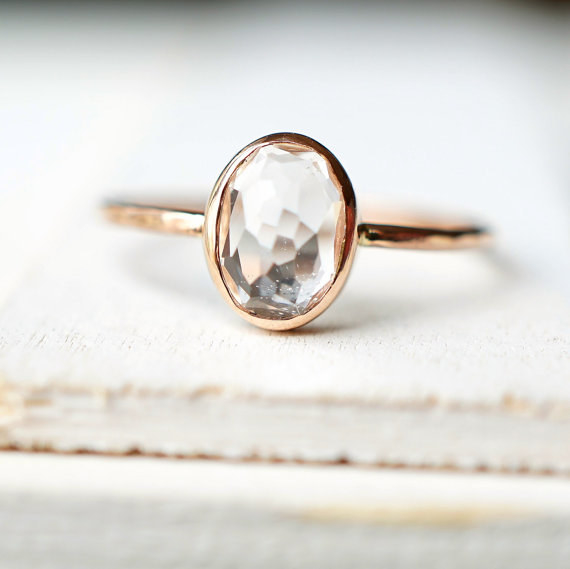 A ring that'll make your love crystal clear.