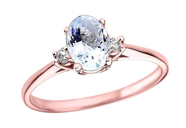 A ring that you can call Molly cause she's just so pretty in pink.