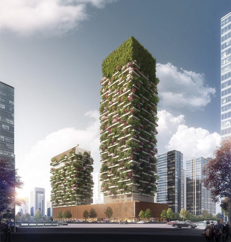 設計師打造全亞洲第一個「垂直森林」 用「會呼吸的建築」來拯救13億中國人!