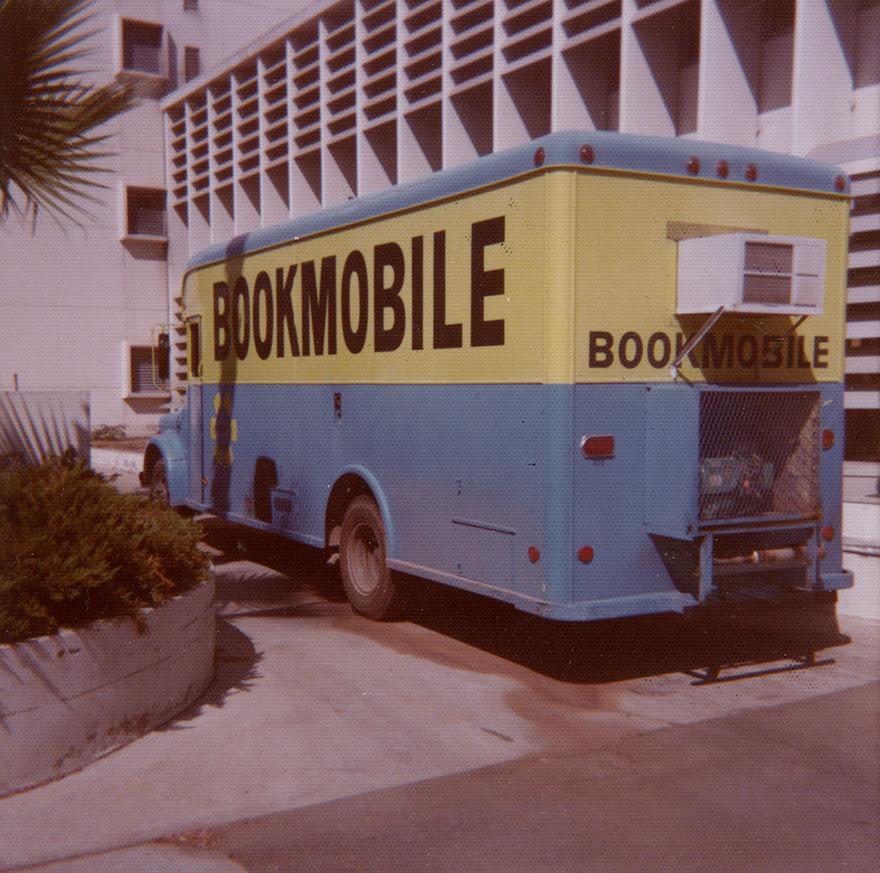 Bookmobile At Headquarters, 1977