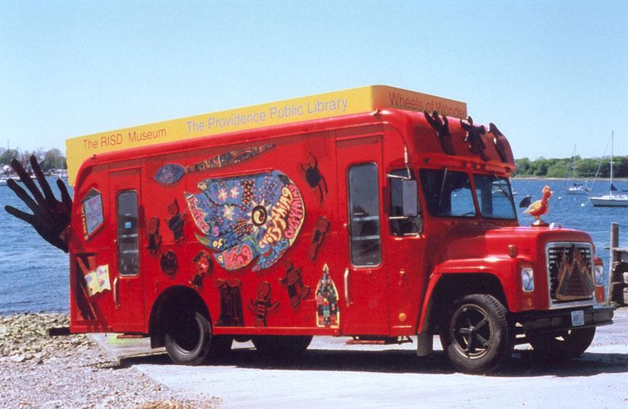 Bookmobile, 1999