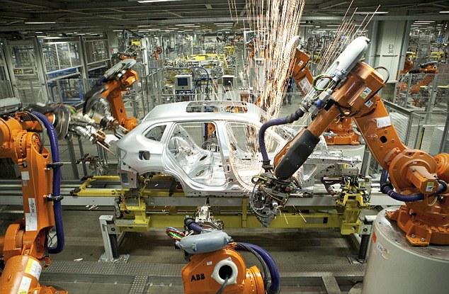 中國工廠「用機器人取代90%人類」效率暴增250%瑕疵率大降80%,人類離末日不遠了...