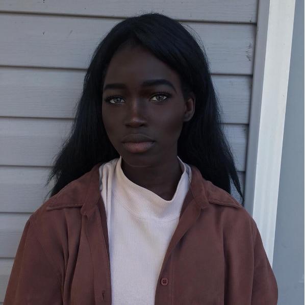 世上最美黑皮膚女神!「黑色素女孩」證明白種人絕對並非最好看