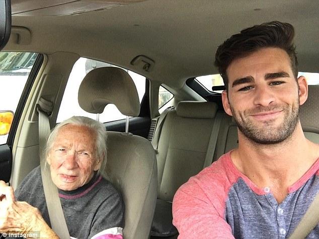 89歲阿嬤和31歲好萊塢天菜「發展超友誼關係」,死前幾個月開始同居讓他看清「情人節的真正意義」!
