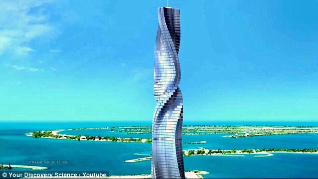 杜拜超狂135億摩天樓將在2020完工。「每層可獨立旋轉」一間10億想看哪就看哪!