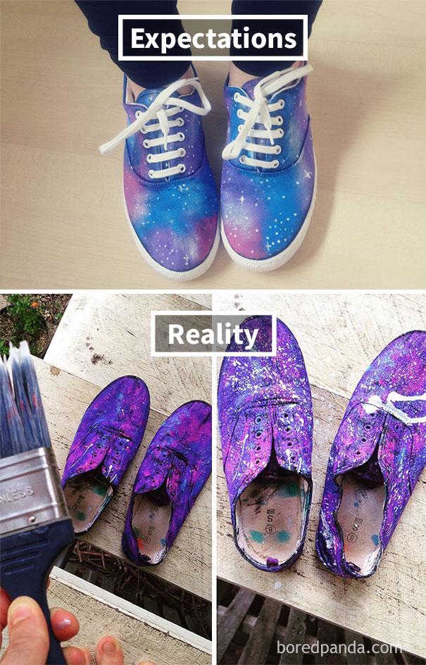 Galaxy Shoe Fail