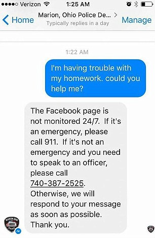 10歲女孩數學作業不會寫「報警求助」 警官溫馨解答但最後卻悲劇了...