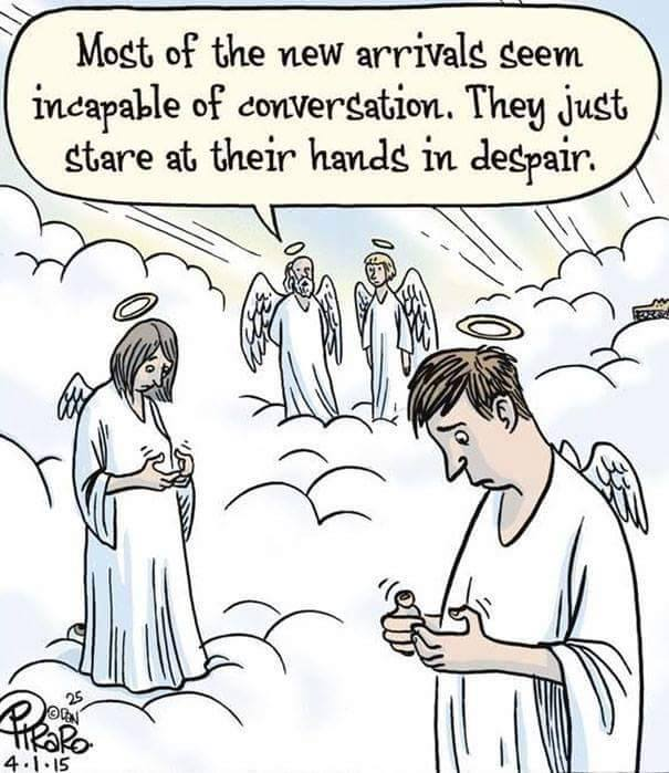 15則證明「人類的未來都被手機毀掉」的諷刺漫畫