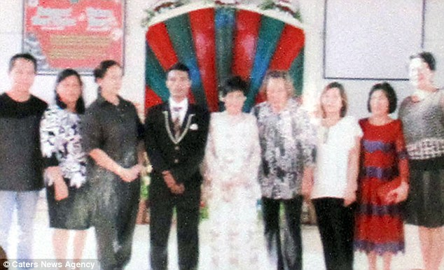 The couple wed on February 18in presence of their family and loved ones in North Sulawesi, Indonesia