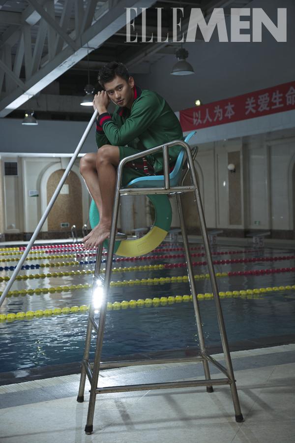 中國「全民男神」帥氣泳將驚傳「不聽話」遭踢出國家隊,里約奧運時直接被趕出宿舍!