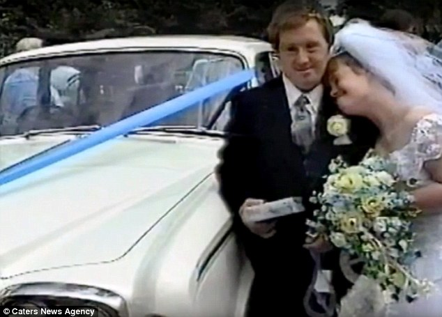 Tommy popped the question and the couple went on to tie the knot at St Mary's Church in Shoeburyness, Essex, in July 1995, pictured