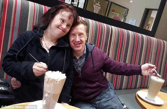 Maryanne and Tommy, pictured on a date, love each other's company